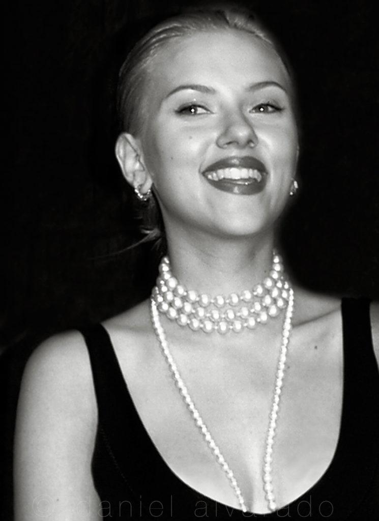 Scarlett Johansson #toronto best celebrity art photographer, celebrity style #art decor daniel alvarado art. Art celebrity auction