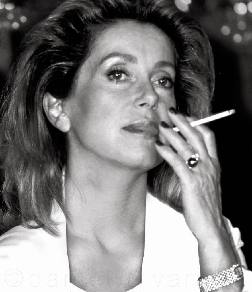 Catherine Deneuve #movie star Toronto celebrity Art photographer. Torontos best photgrapher