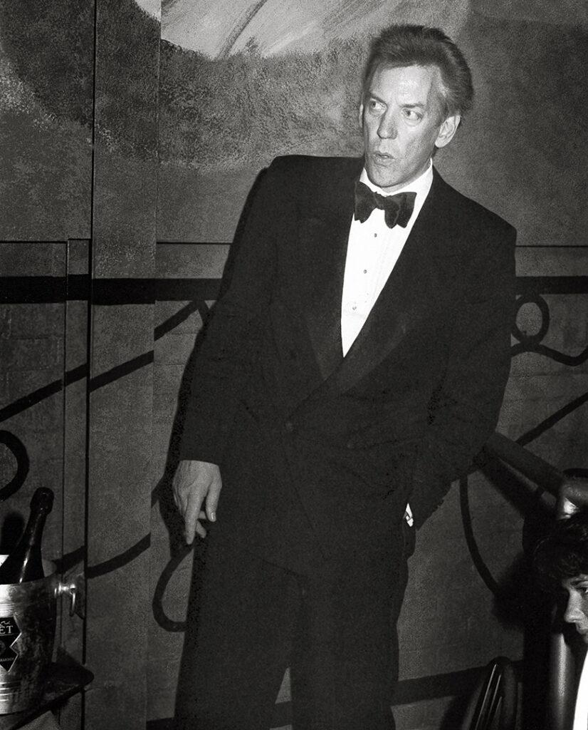 Donald Sutherland #art #decor #celebrity auction Toronto best Photographer Daniel Alvarado decor art Vip oscars